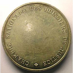 Monnaies jetons m dailles numismatique de la justice huissiers de justice - Chambre nationale des huissiers de justice ...