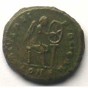 Bronze   14mm   (Constantinople 378-383)    TTB/TTB+