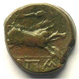Bronze  19mm   (III° s. av.JC)    TTB+