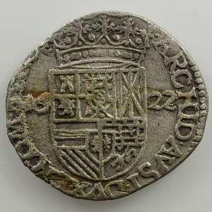 Carolus de billon au Lion   (Philippe IV  1621-1665)   1622  Dôle    TTB