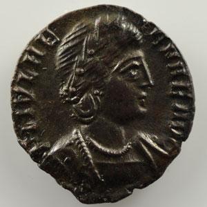 Centenionalis posthume émis par les petits-enfants d'Hélène   R/ PAX PVBLICA  (Trèves / Trier 337-340)    SUP/FDC