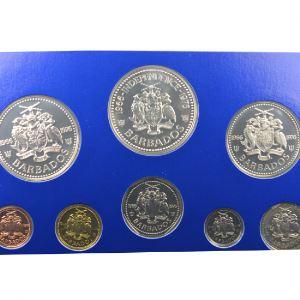 coffret de 8 pièces dont 2 en argent  Proof Set   1976    PROOF