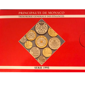 Coffret FDC Monaco   1995