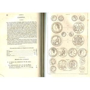 Cohen H.   Description historique des monnaies frappées sous l'empire romain   tome I à III