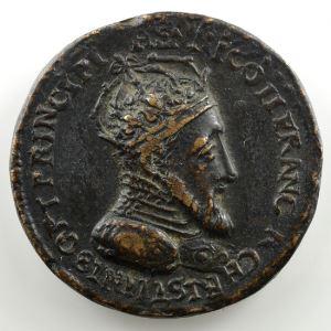 Défense de Metz   Médaille en bronze 33mm   Henri II   1552    TB+/TTB