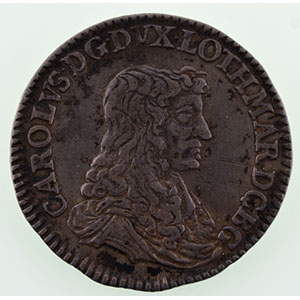 Demi-teston   1665  (Nancy)    TTB