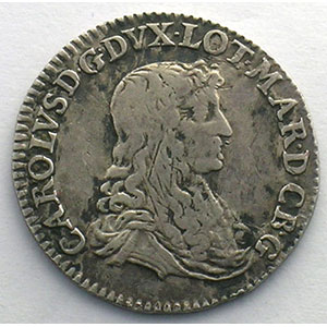 Demi-teston   1666  (Nancy)    TB+/TTB