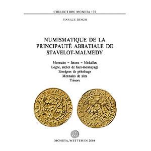 Dengis   Numismatique de la principauté abbatiale de Stavelot-Malmédy