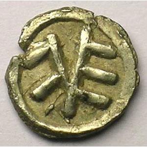 Denier du VIII° siècle    TTB+/SUP