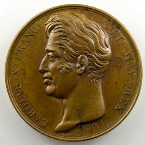 DEPAULIS   Monument à la mémoire de Louis XVI   3 mai 1826   bronze 51 mm    SUP/FDC
