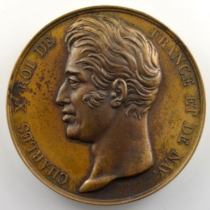 DEPAULIS   Voyage de l'Astrolabe   1826   bronze 50 mm    SUP