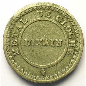 Dixain  1791   33 mm    TTB