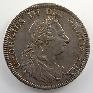 Dollar/ 5 Shillings   Bank of England   1804    TTB