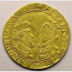 Double Ducat   Albert et Isabelle (1598-1621)   s.d. 1600/1611    TTB