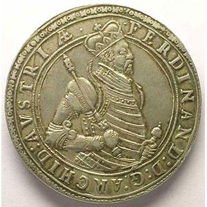 Double Thaler   Ferdinand, Archiduc (1564-1595)   nd   Ensisheim    TTB+/SUP