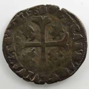 Douzain   Clément VIII et Octave d'Acquaviva, légat (1594-1600)   1596  Avignon    TB