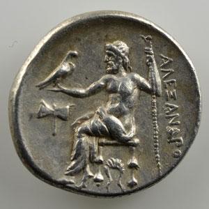 Drachme posthume   MILET (Ionie)   300-295 av.JC    TTB+