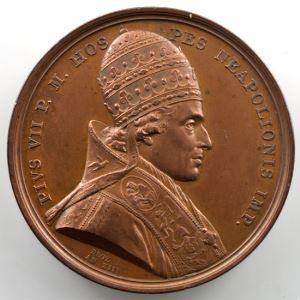 Droz   Médaille en bronze   41mm   Couronnement de Napoléon I  2 décembre 1804    SUP/FDC