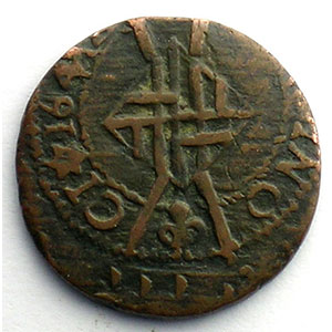 Duplessy 1391   Sizain   BARCELONE   1641    TB+