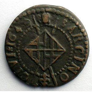 Duplessy 1614   Sizain   BARCELONE   1649    TB+/TTB