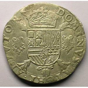 Ecu   Philippe II (1555-1598)   1557 Anvers    TB+/TTB