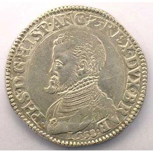 Ecu   Philippe II (1555-1598)   1558 Anvers    TTB/TTB+
