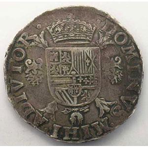 Ecu   Philippe II (1555-1598)   1572 Anvers    TTB