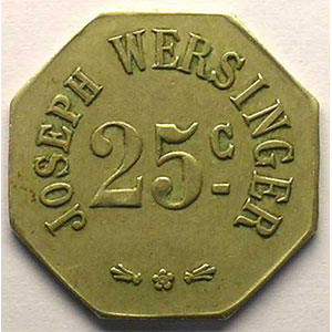 Elie 75.3   25 c   Ma,8   23 mm    TTB