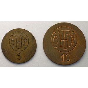 Elie C670,1 et 2   5 et 10 ( c )    SUP