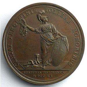 F.Marteau   Académie de Dijon   bronze   41,5mm    SUP/FDC