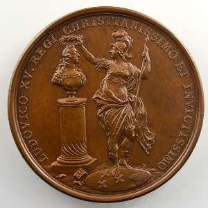 F. Marteau   Prise de Berg-op-Zoom   bronze   41mm    SUP/FDC