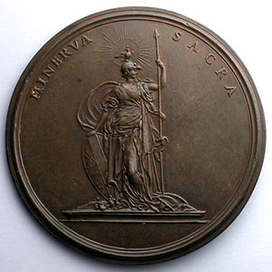 Ferdinand de SAINT-URBAIN   bronze   57 mm    SUP