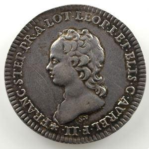 Ferdinand de Saint-Urbain   Jeton rond en argent  27mm   François-Etienne   1714    TTB