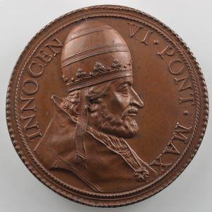 Ferdinand de Saint-Urbain   Médaille en bronze  39mm   Innocent VI (Pape de 1352 à 1362)    SUP/FDC