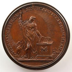 Ferdinand de Saint-Urbain   Médaille en bronze  42mm   Saint-Pierre    SUP/FDC