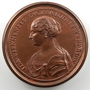 Ferdinand de Saint-Urbain   Médaille en bronze  47.5mm   Simon II    SUP/FDC