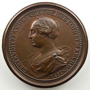 Ferdinand de Saint-Urbain   Médaille en bronze  47.5mm   Thierry    SUP/FDC