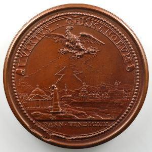 Ferdinand de Saint-Urbain   Médaille en bronze  55mm   Délivrance de la Hongrie reconquise sur les Turcs   SUP/FDC