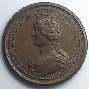 Ferry II, Comte de Vaudémont   bronze   47 mm    TTB+/SUP