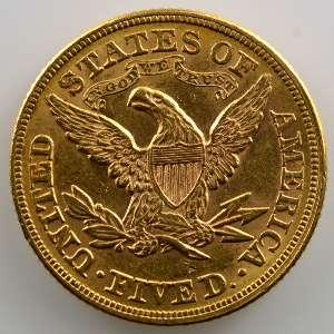 Five D.   1878   Liberty Head    TTB+/SUP