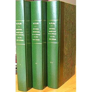 FLON   Histoire Monétaire de la Lorraine et des Trois-Evêchés   les 3 tomes reliés 1/2 simili