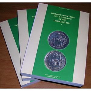 FLON   Histoire Monétaire de la Lorraine et des Trois-Evêchés
