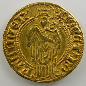 Florin d'or   Frédéric III, Empereur du Saint-Empire (1452-1478)    TTB