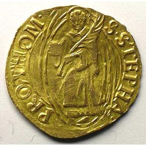 Florin d'or non daté   (fin XV°-1620)    TTB