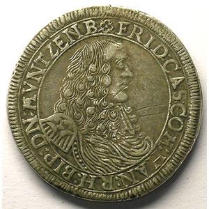 Florin   Frédéric-Casimir (1641-1685)   non daté  GH-P    TTB
