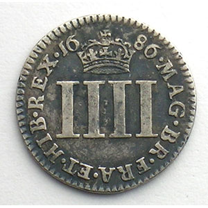 Fourpence   1686    TB+