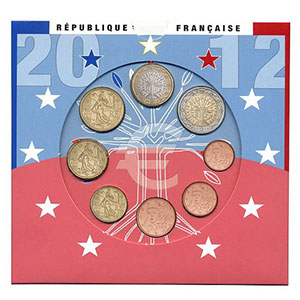 France coffret BU 2012