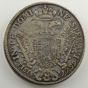Francescone   1759   Florence    TB+/TTB