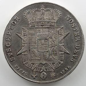 Francescone d'argent   Léopold II (1824-1859)   1846 (Florence/Firenze)    TTB