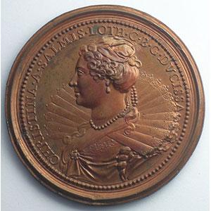 François II   bronze   47 mm    SUP